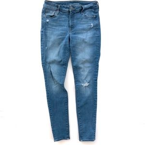 Old Navy Rock Star Mid Rise Skinny Jeans